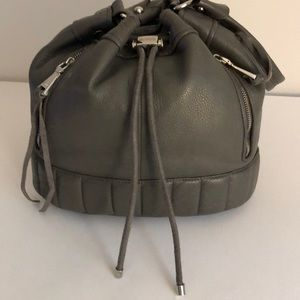 Aimee Kestenberg Leather Pebble Drawstring Handbag